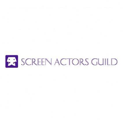 free vector Screen actors guild