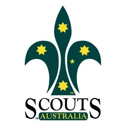 free vector Scouts australia 0