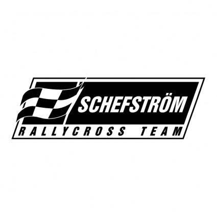 free vector Schefstrom rallycross team