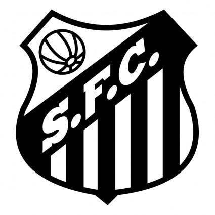 free vector Santos futebol clube de sao borja rs
