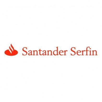 free vector Santander serfin