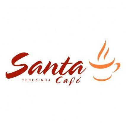 free vector Santa cafe
