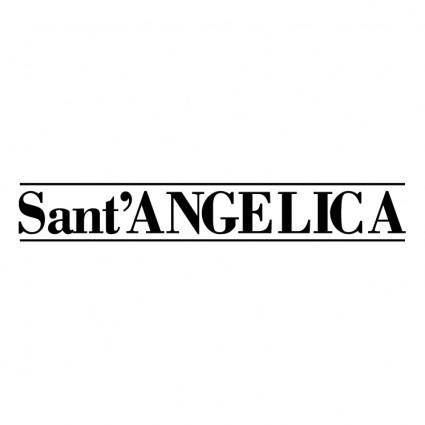 free vector Sant angelica