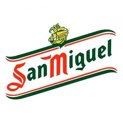 free vector San miguel cerveza 2