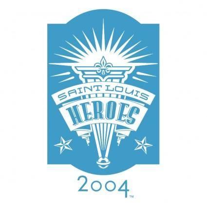 free vector Saint louis heroes 2004