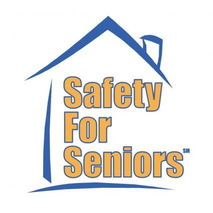 free vector Safety for seniors