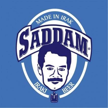 free vector Saddam beer