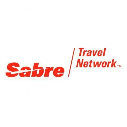 free vector Sabre travel network