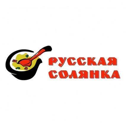 free vector Russkaya solyanka 0