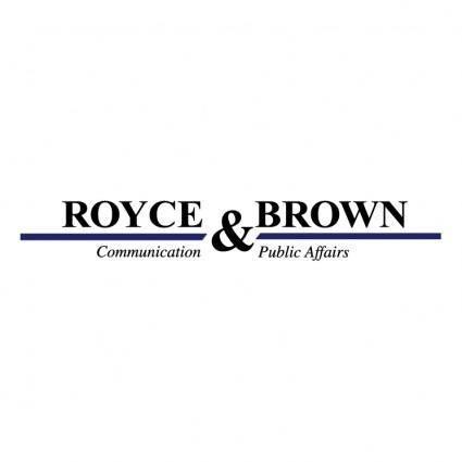 free vector Royce brown srl