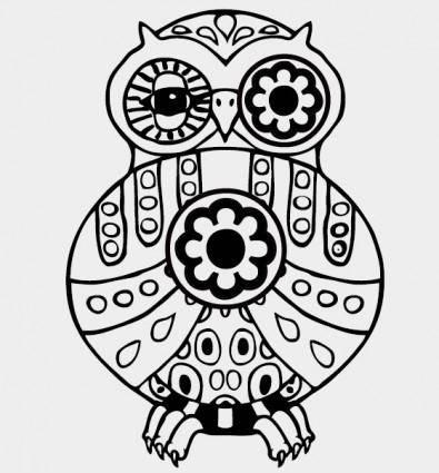 free vector Owl vector