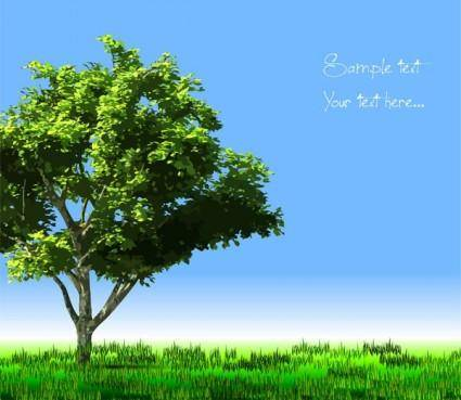 Trees vector 2