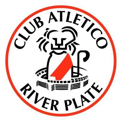 free vector River plate 86