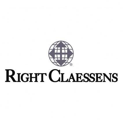 free vector Right claessens
