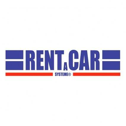 free vector Rent a car systeme