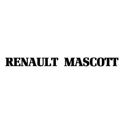 free vector Renault mascott