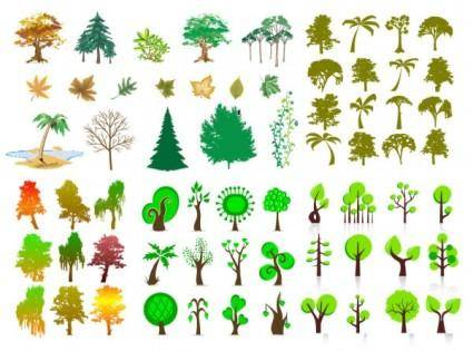 free vector Trees vector series