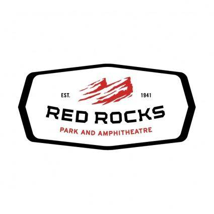 free vector Red rocks 4