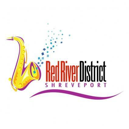 free vector Red river district