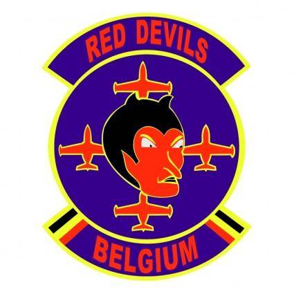 free vector Red devils