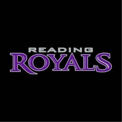 free vector Reading royals