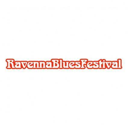 free vector Ravenna blues festival
