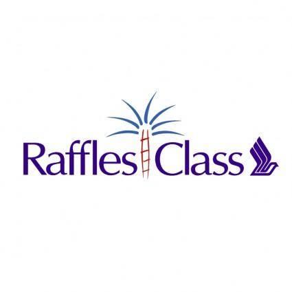 free vector Raffles class