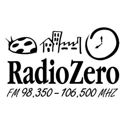 free vector Radio zero