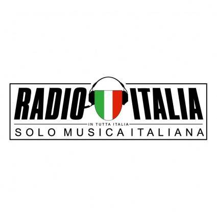 free vector Radio italia