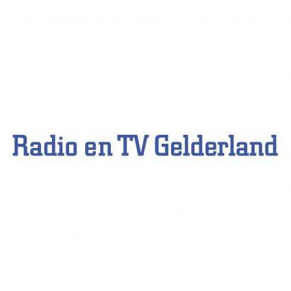 free vector Radio en tv gelderland