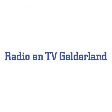 free vector Radio en tv gelderland
