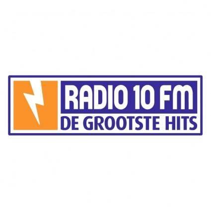 free vector Radio 10 fm 0
