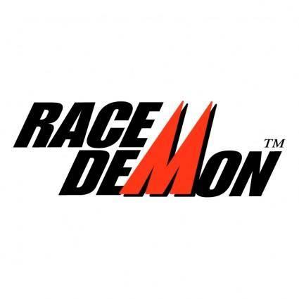free vector Race demon