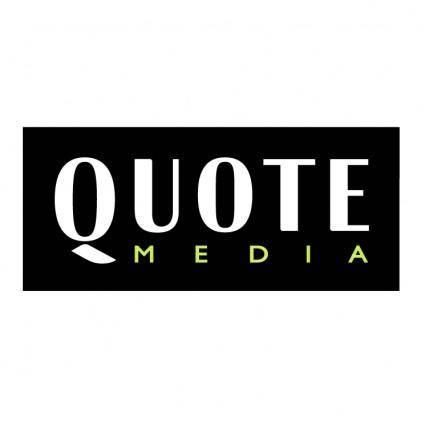 Quote media
