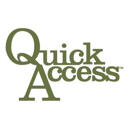 free vector Quick access