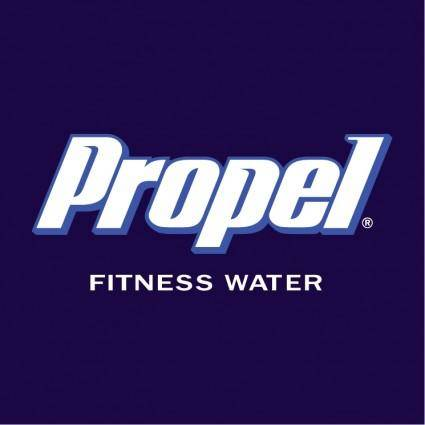 free vector Propel fitness water