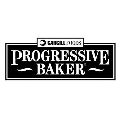 free vector Progressive baker