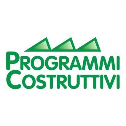 Programmi costruttivi