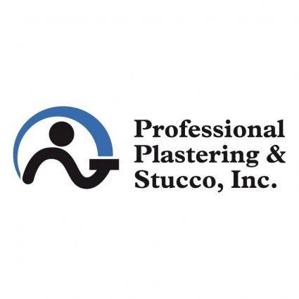 Professional plastering stucco