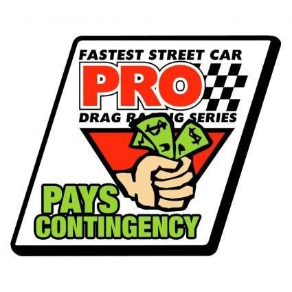 Pro pays contingency