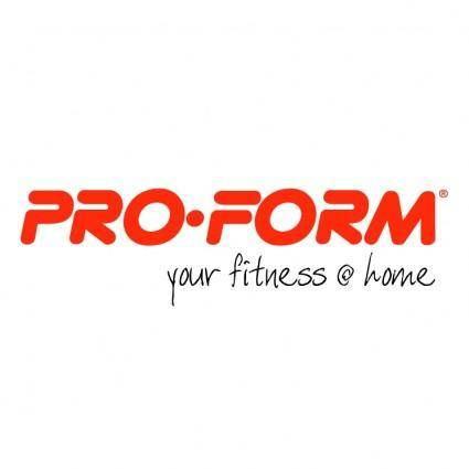 Pro form 1