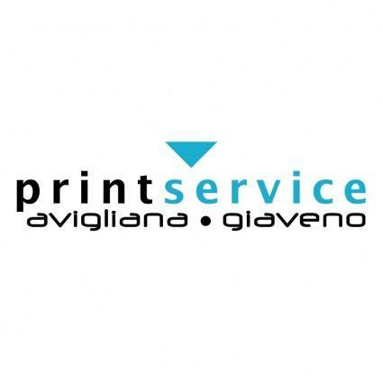free vector Print service