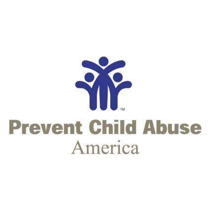 free vector Prevent child abuse america