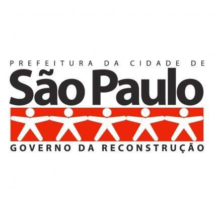 free vector Prefeitura de sao paulo