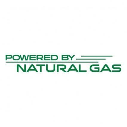 free vector Powered by natural gas