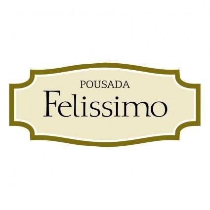 free vector Pousada felissimo