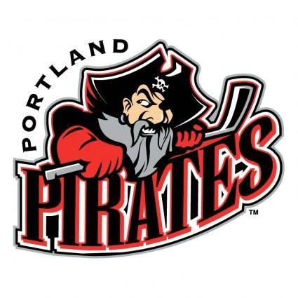 free vector Portland pirates 0