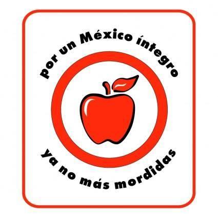 free vector Por un mexico integro campania