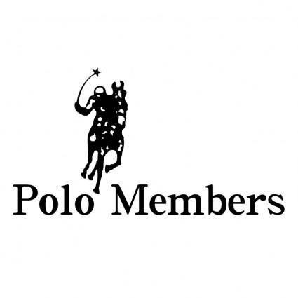 free vector Polo members