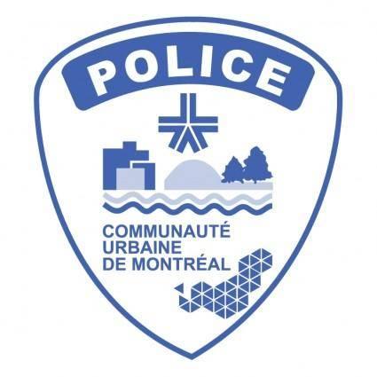 free vector Police de montreal